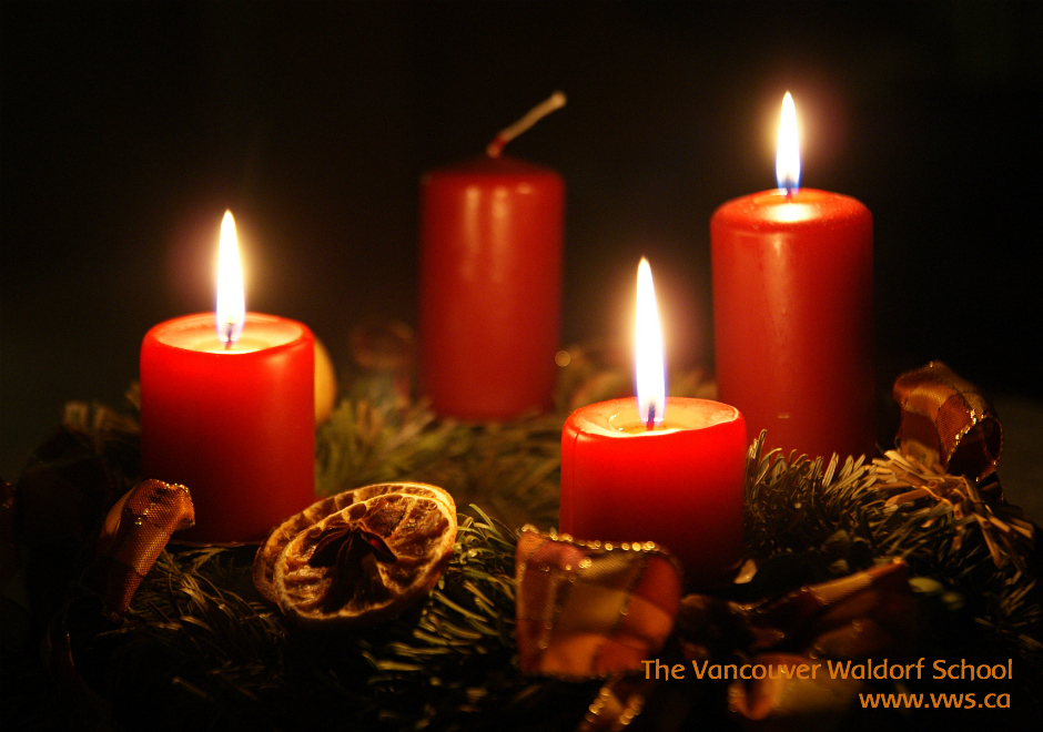 Vancouver Waldorf School | Third Candle of Advent