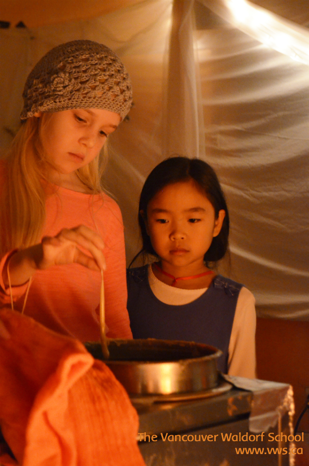 Vancouver Waldorf School - 1st Candle of Advent