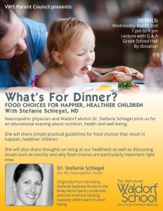 An Evening of Nutrition with Stefanie Schlegel