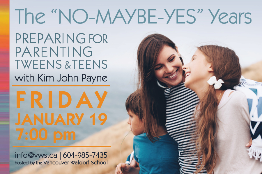 "The ""No-Maybe-Yes"" Years: Preparing for Parenting Tweens and Teens with Kim John Payne"