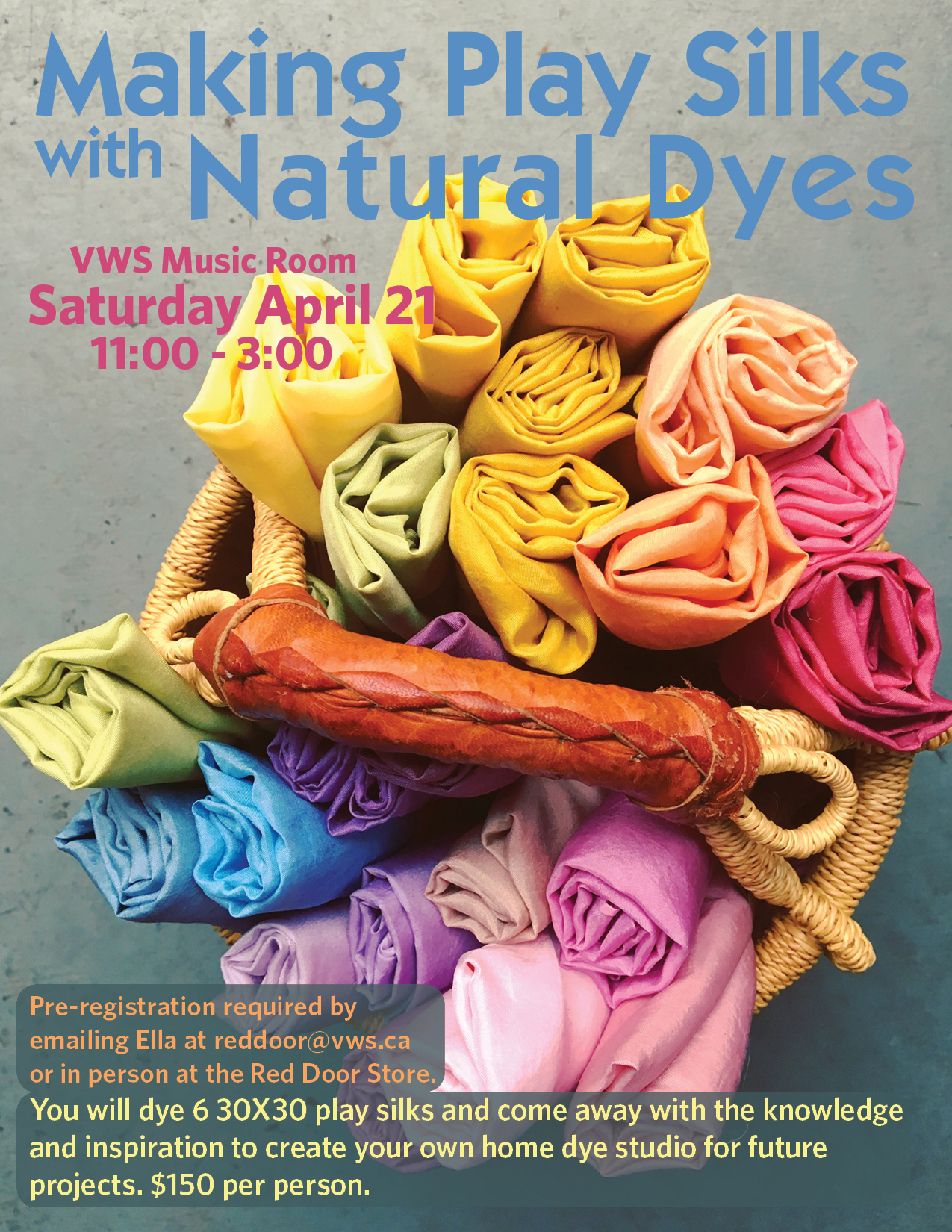 Making Play Silks with Natural Dyes