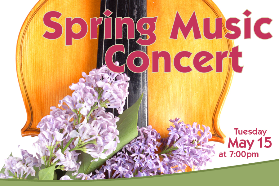 Spring Music Concert Poster