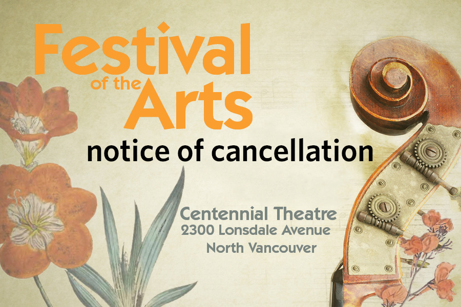 Important Notice of Cancellation - Festival of the Arts